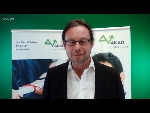 Fernstudium Digital Transformation an der AKAD University - Interview mit Prof. Rossberger